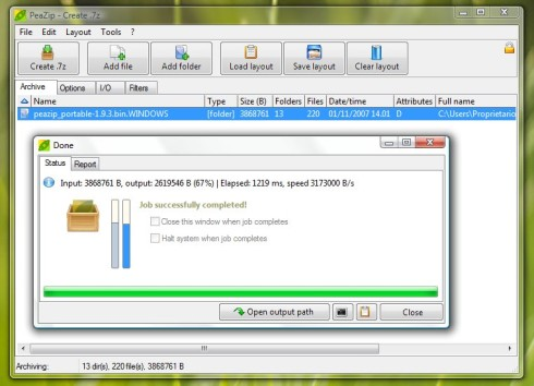 Extract/unzip/uncompress/open gz/gzip files with freeware, free.