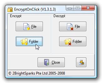 Encriptar carpetas y archivos en tan sólo unos pocos clicks
